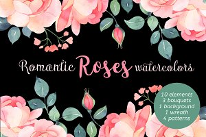 Romantic roses bundle