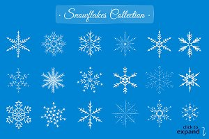 56 Snowflakes Collection