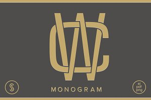 CW Monogram WC Monogram