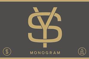 SY Monogram YS Monogram