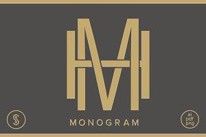 HM Monogram MH Monogram