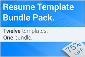 Resume Bundle 12 Pack