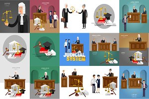 Judical system elements & characters