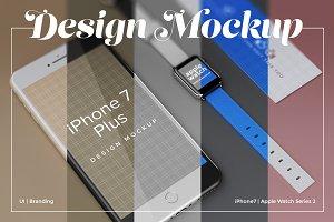 UI/Branding Design Mockup