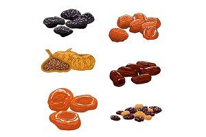 Dried Fruits set