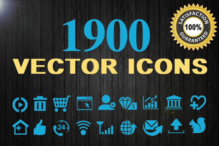 8463f345a5d022 1900 Vector Icons ~ Icons ~ Creative Market