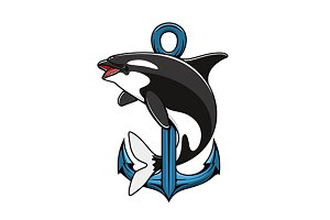 Killer Whale and Anchor