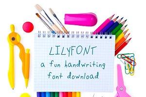 Lilyfont Childrens Handwriting Font