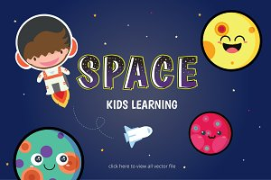 KIDS LEARNING PLANET SET