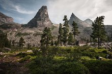 Beautiful nature montain landscape