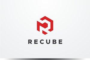 Recube - Letter R Logo