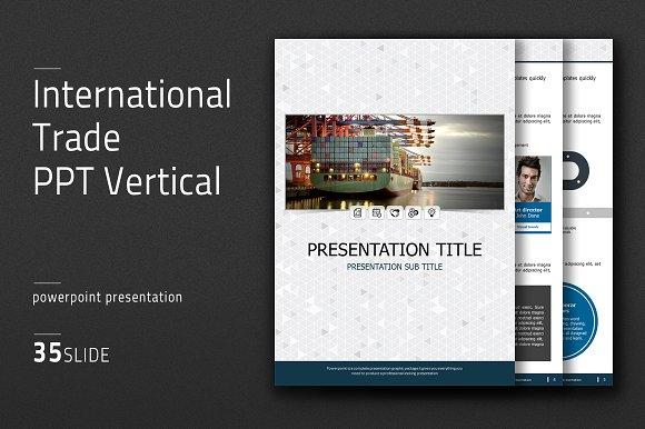 International Trade PPT Vertical