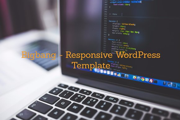 Bigbangos-Responsive WordPress Theme