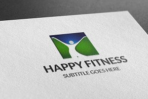 Happy Fintness Logo