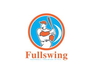 Fullswing Baseball Training Logo