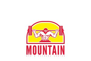 Mountain Gym Fitness Logo