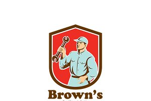 Brown's Automotive Logo