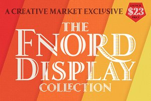 Fnord Display Collection - 3 Fonts