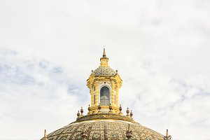 Detail of a baroque dome