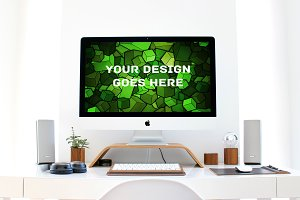 Apple iMac Display Mock-up#18