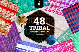 48 Tribal Pattern Textures