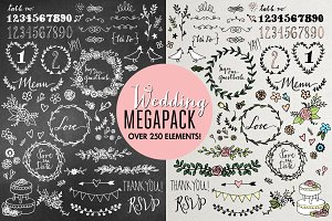 Wedding Illustrations Megapack