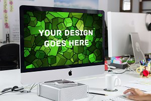 Apple iMac Display Mock-up#20