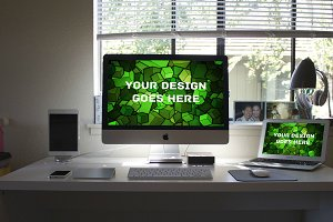 Apple iMac Display Mock-up#21