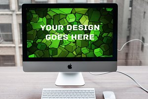 Apple iMac Display Mock-up#22