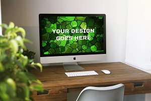 Apple iMac Display Mock-up#25