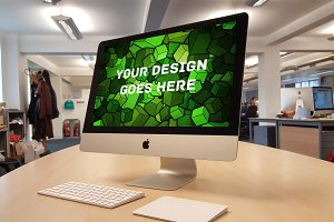 Apple iMac Display Mock-up#26