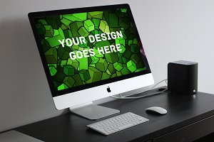 Apple iMac Display Mock-up#27
