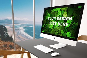 Apple iMac Display Mock-up#29