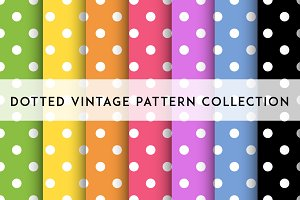 Dotted vintage pattern
