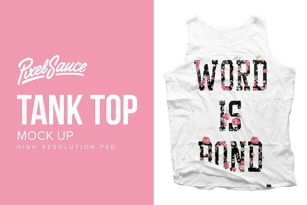 Basic Tank Top Mock Up