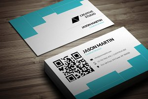 Corporate Data Company Business Card