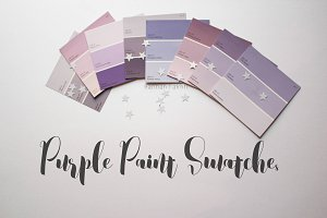 Purple Paint swatches