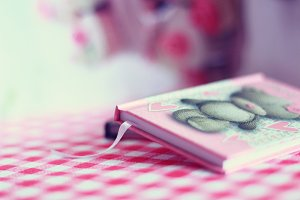 Girl notebook