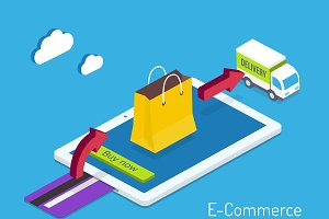 E-commerce or internet shopping