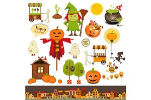 Halloween Set of Trick or Treat