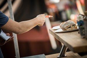 Small business sandwich market