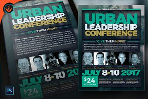 Urban Leadership Conference Flyer