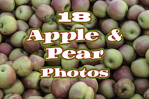 18 Apple & Pear Photo Collection