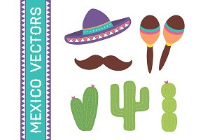 Mexico Vector Set