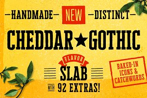 Cheddar Gothic Slab