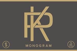 KP Monogram PK Monogram
