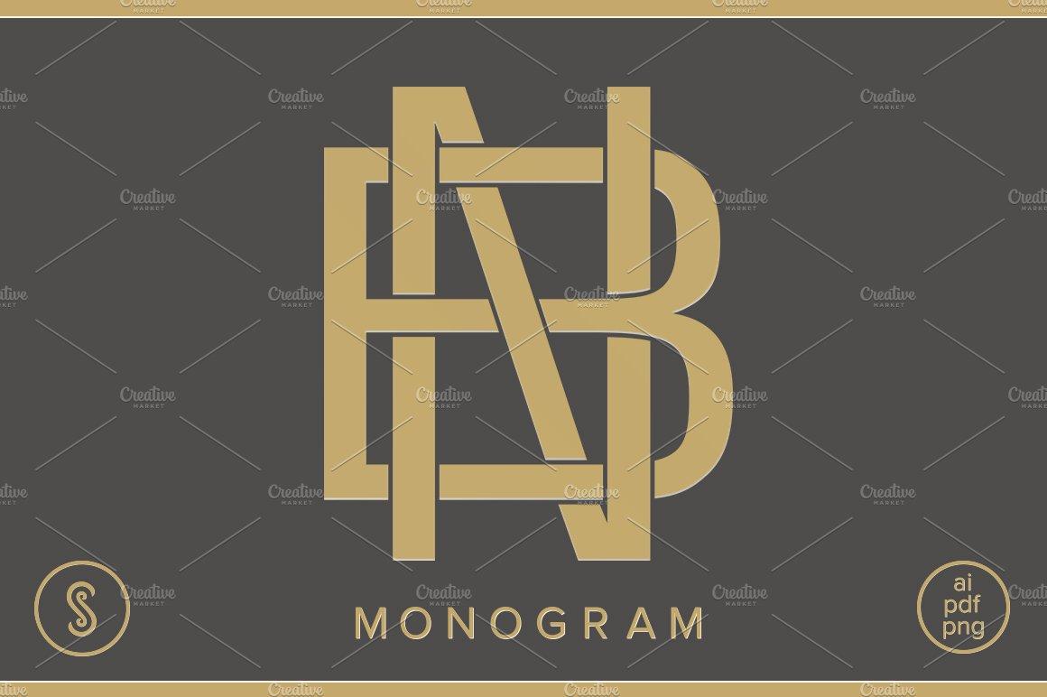 Bn Monogram Nb Monogram Creative Daddy