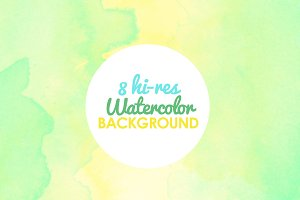 8 Watercolor Background