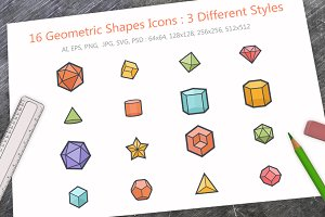 Geometric Shapes Icon