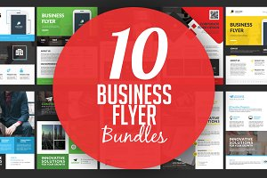 10 Business Corporate Flyer Designs